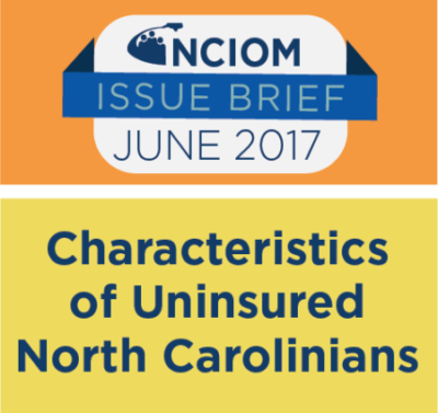 Characteristics of Uninsured North Carolinians: 2015 Data Snapshot