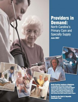 Report Cover: Providers in Demand