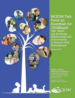 Cover image: NCIOM Task Force on Essentials for Childhood March 2015