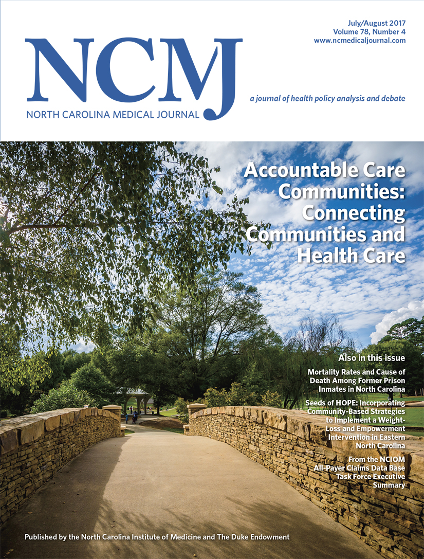 Accountable Care Communities: Connecting Communities and Health Care