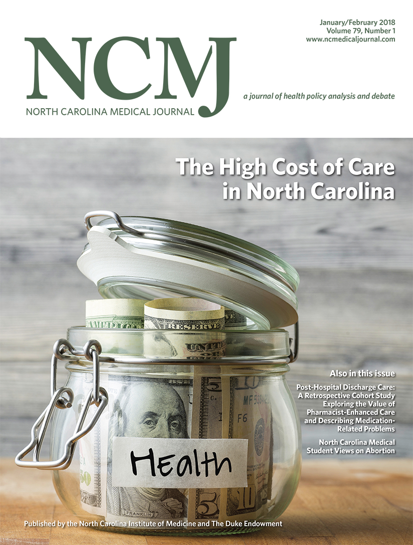 The High Cost of Care in North Carolina