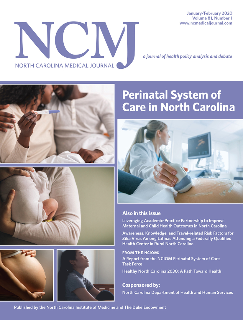 Perinatal System of Care in North Carolina
