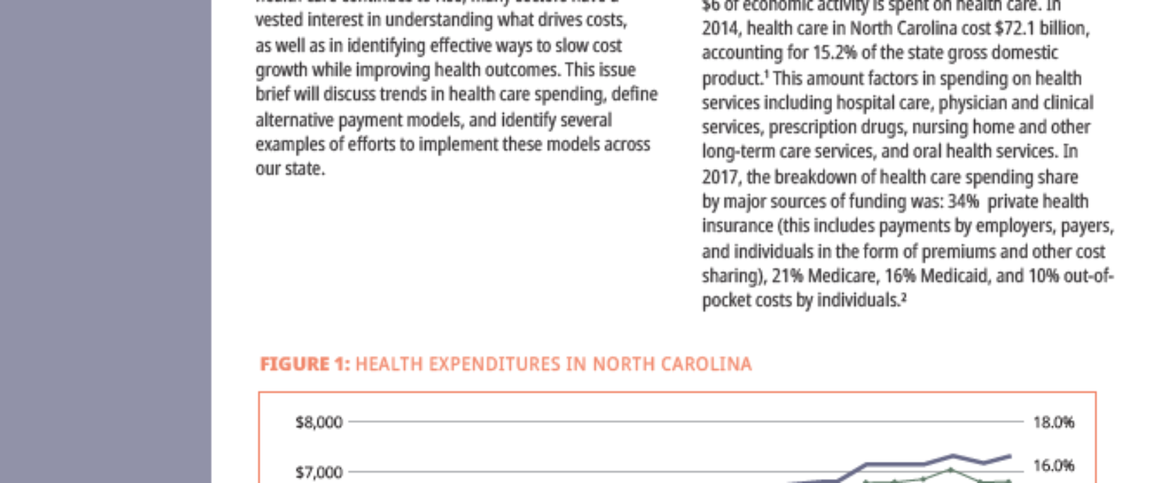 Moving to Value-Based Care in North Carolina