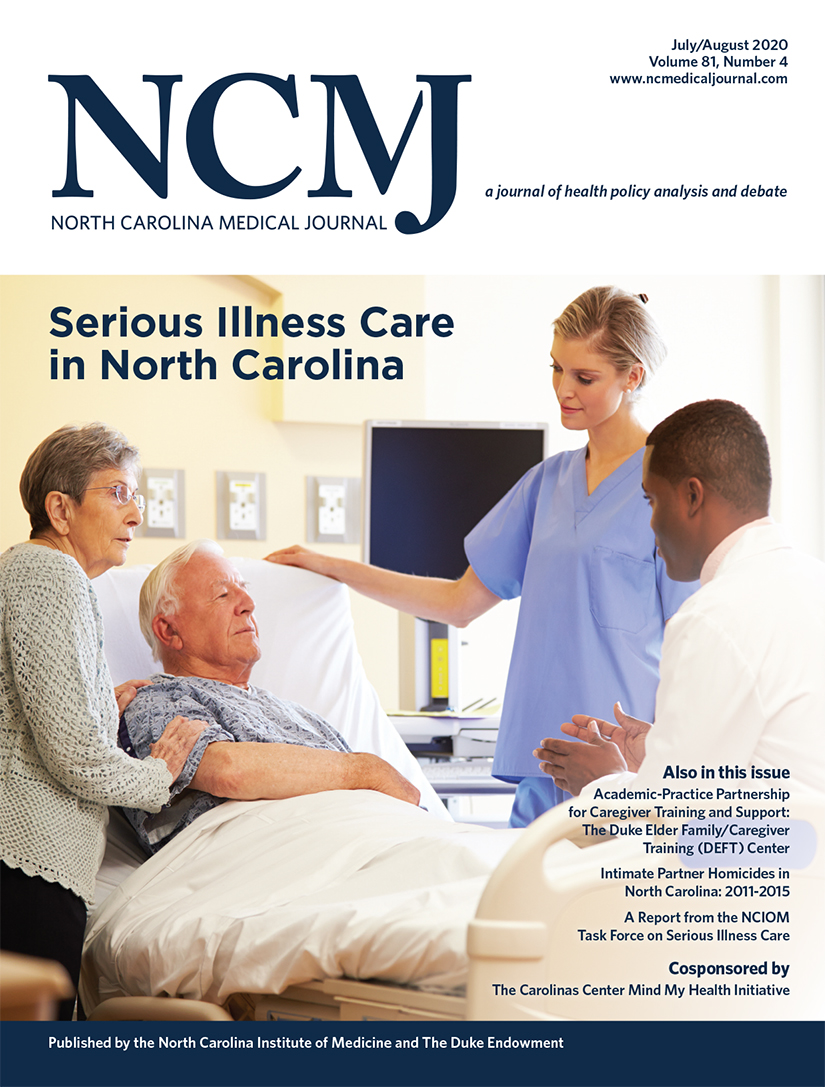 Serious Illness Care in North Carolina