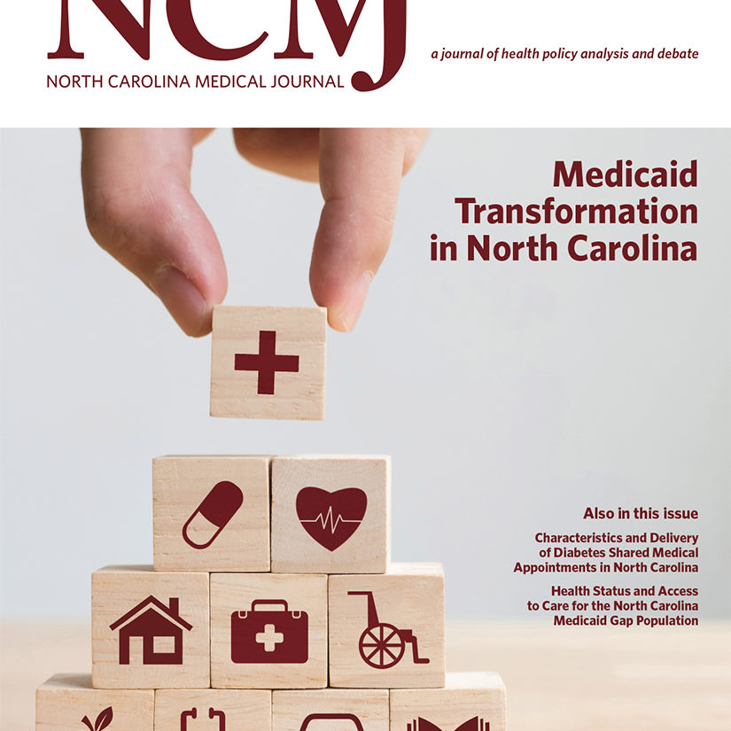 NCMJ Cover: Medicaid Transformation in NC